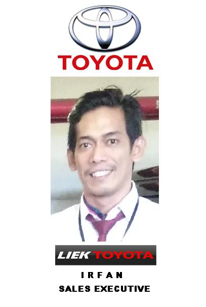 Sales Marketing Mobil Dealer Toyota Irfan