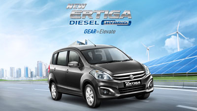 Suzuki Ertiga Diesel Hybrid Sidebar